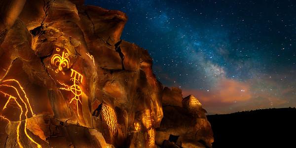 Lagomarsino Canyon Petroglyph Site
